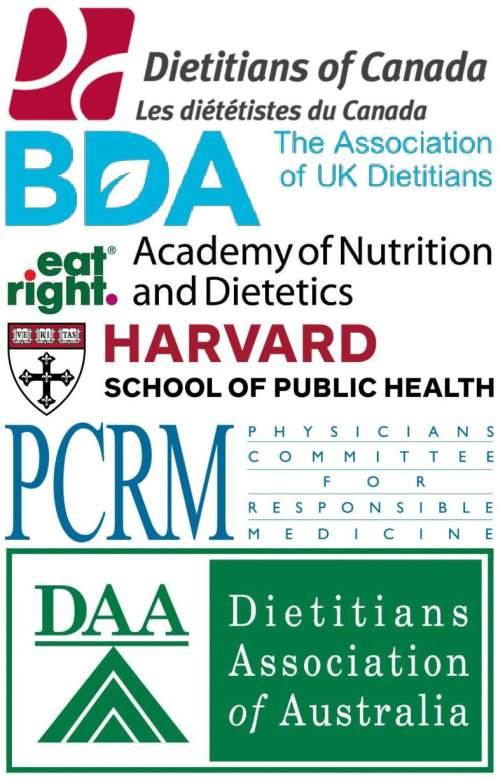 Hästi kavandatud taimse toitumise ohutust kinnitavad organisatsioonid