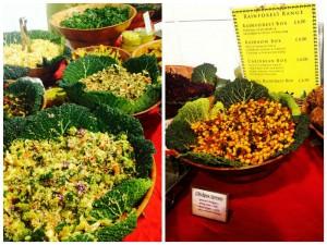 Ilusad, maitsvad ja tervislikud salatid firmalt Rainforest Creations.
