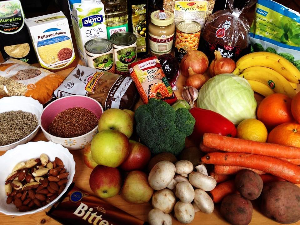 Nädala toidukorv (kogused erinevad näidistoidusedelist)